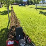 sprinkler trenching utah
