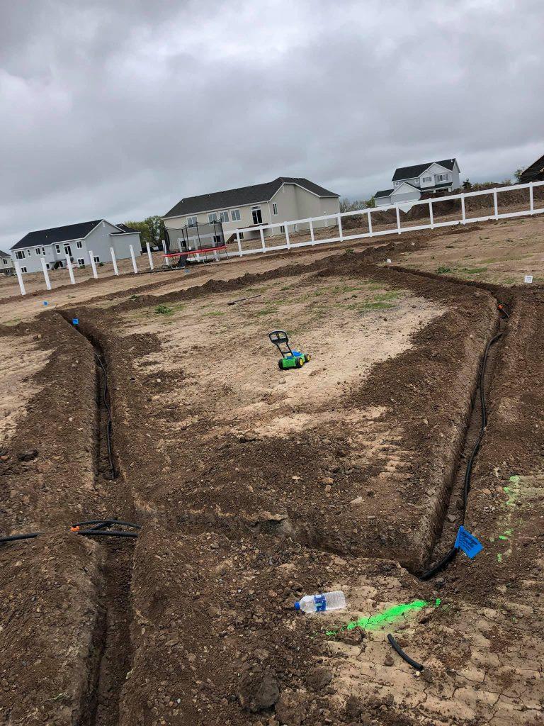 irrigation system install utah